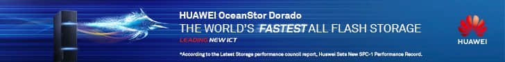 Huawei- The world's fastest intelligent all-flash storage