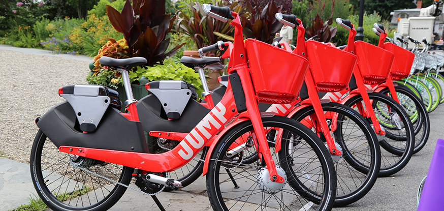 Ride-hailing company introduces self-service electric bikes